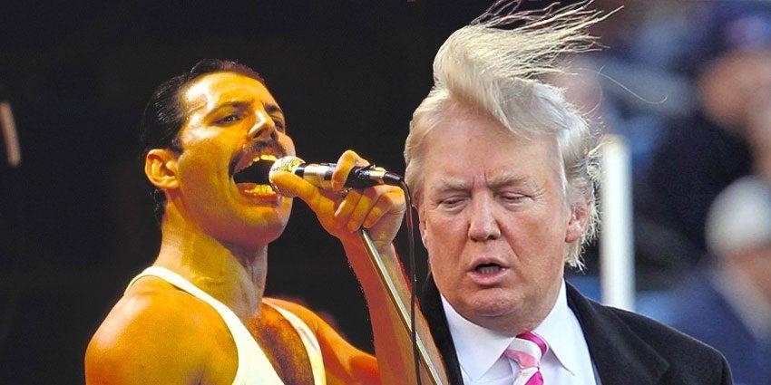 Queen Trump Freddie Mercury