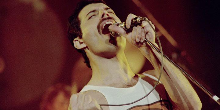 Freddie Mercury, en 1981.