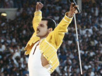 Freddie Mercury en Wembley, 1986. Queen.