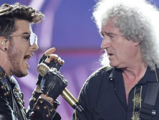 Adam Lambert y Brian May (Queen)