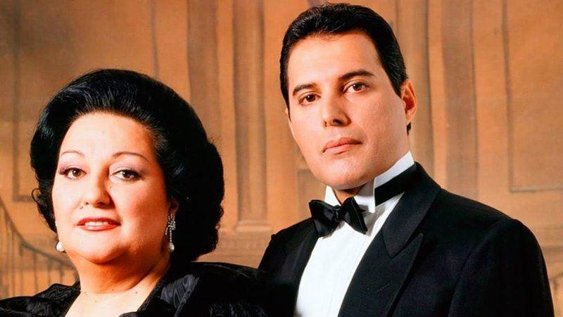 Montserrat Caballé y Freddie Mercury. Queen.