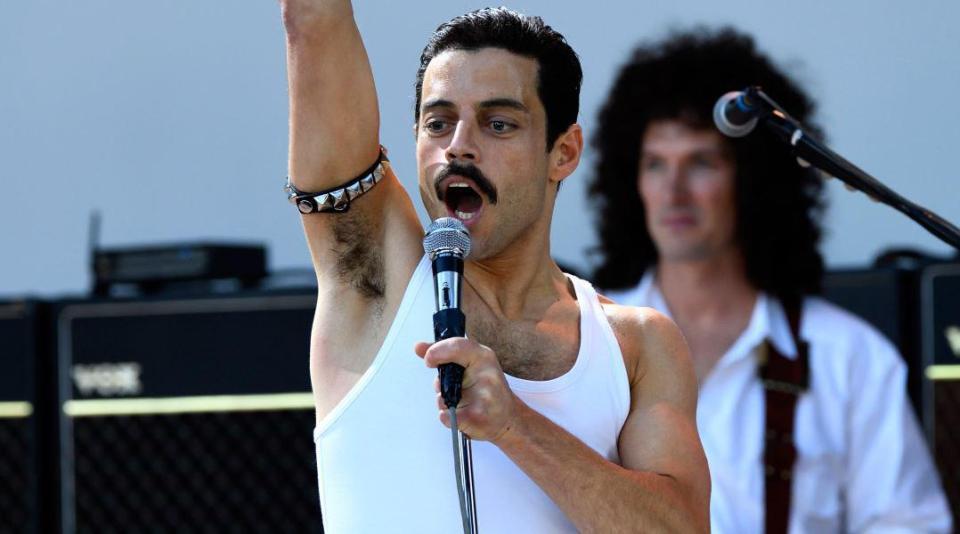 Rami Malek as Freddie Mercury in Fox's Bohemian Rhapsody
