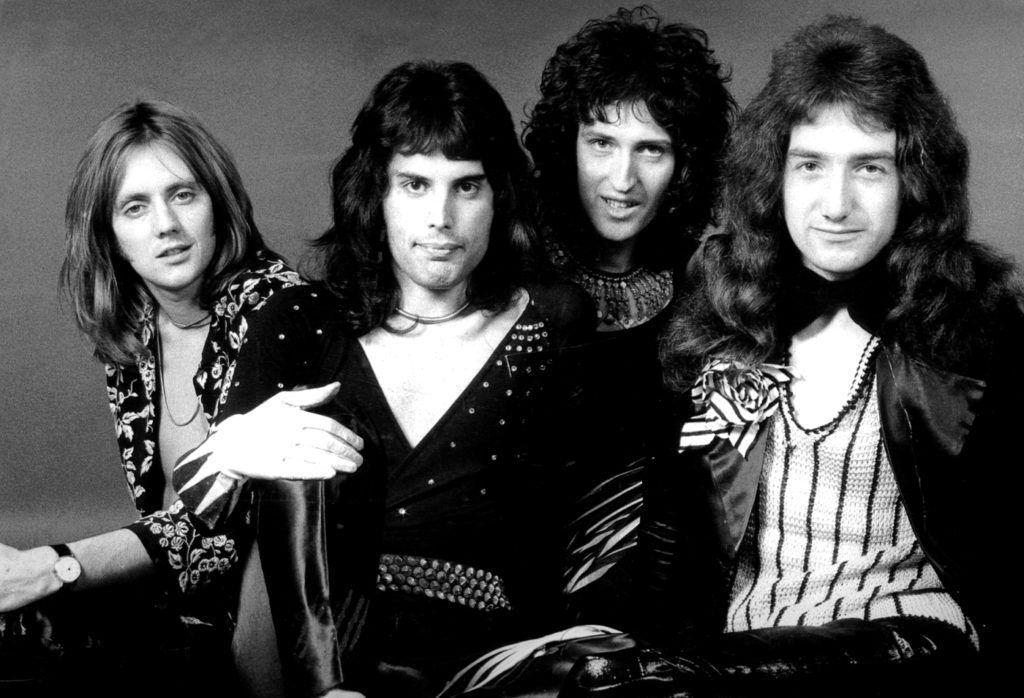 Queen en 1974.
