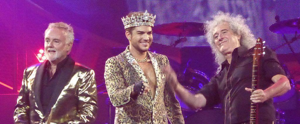 Queen y Adam Lambert.