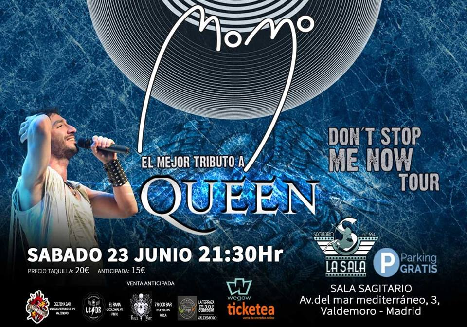 Momo. Tributo a Queen.