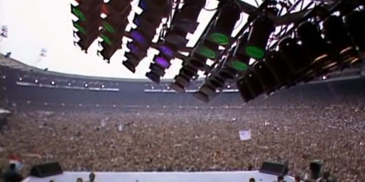 Queen en Wembley, 1986.