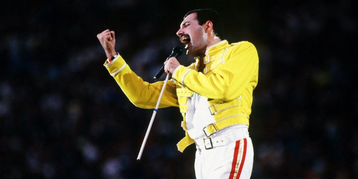 Freddie Mercury. Wembley.