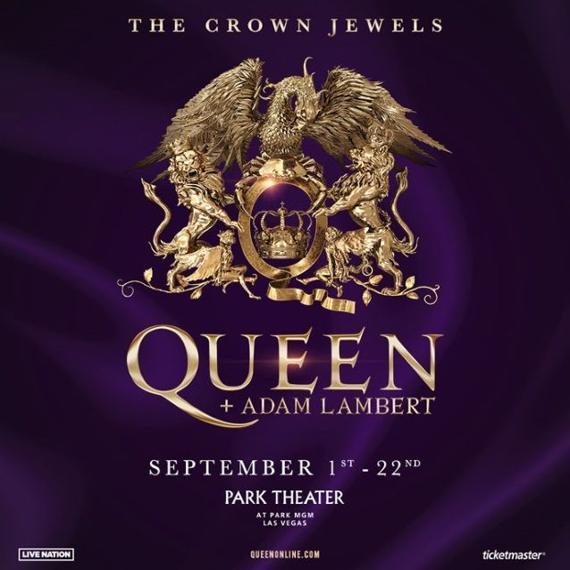 Queen + Adam Lambert To Rock Las Vegas