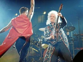 Queen + Adam Lambert en Madrid el 9 de junio de 2018.