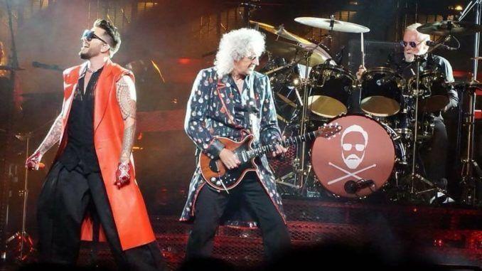 Queen + Adam Lambert en Lisboa.