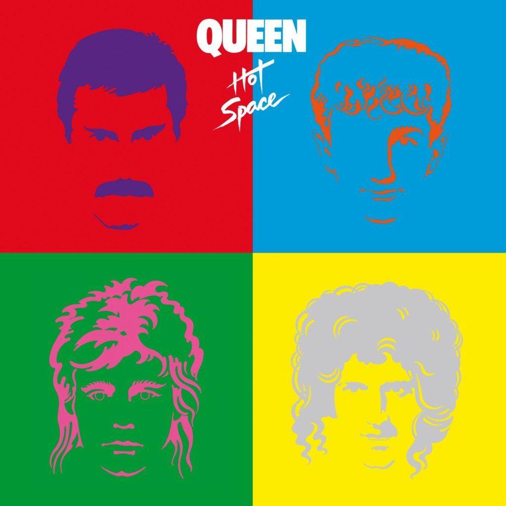 El álbum Hot Space, que inlcluye la canción 'Life Is Real (Song for Lennon)'.