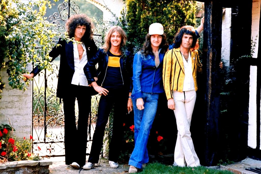 Queen en Japón, 1975.