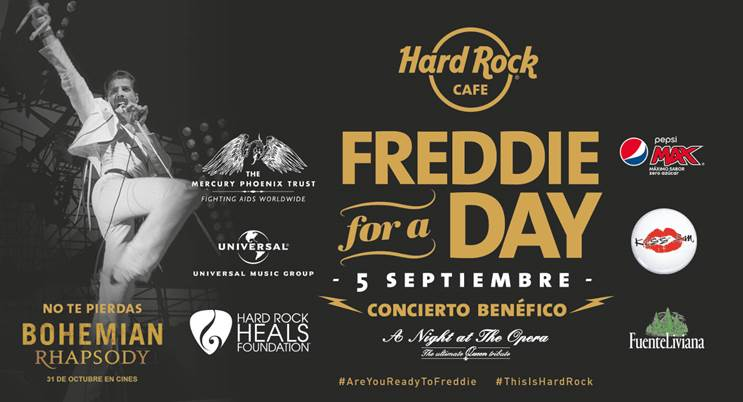 Freddie For A Day Madrid 2018