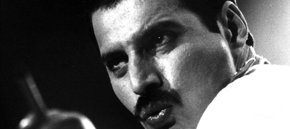 Freddie Mercury, de Queen, en Madrid