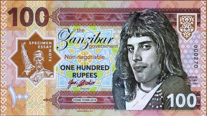 Billete Freddie Mercury 2018