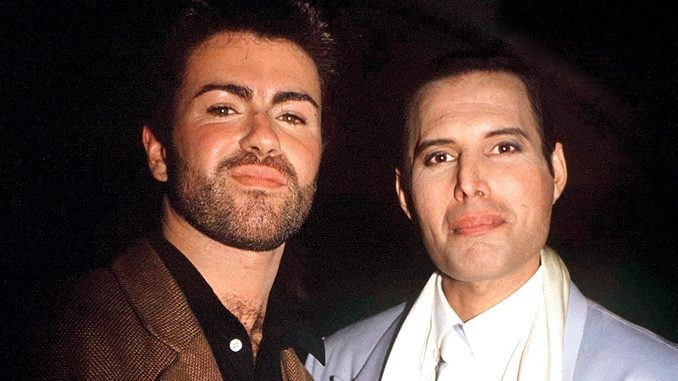 George Michael y Freddie Mercury