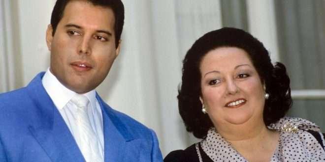 Freddie Mercury Montserrat Caballé Barcelona