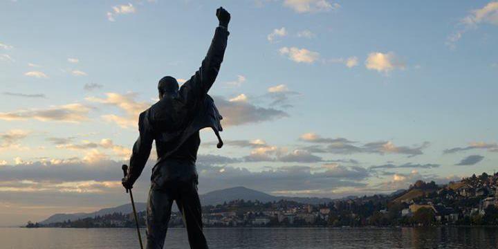 Freddie Mercury Estatua Montreux