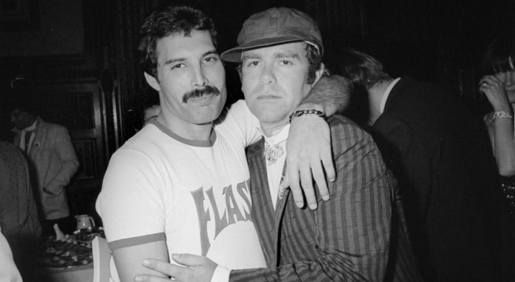 Elton John Freddie Mercury
