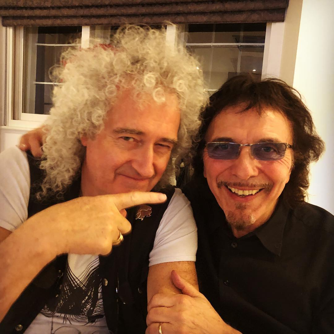 Brian May Tony Iommi