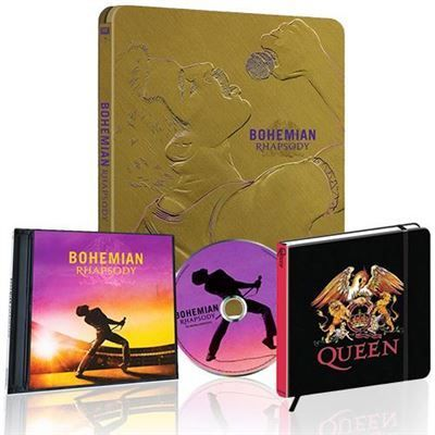 fnac bohemian rhapsody queen pack