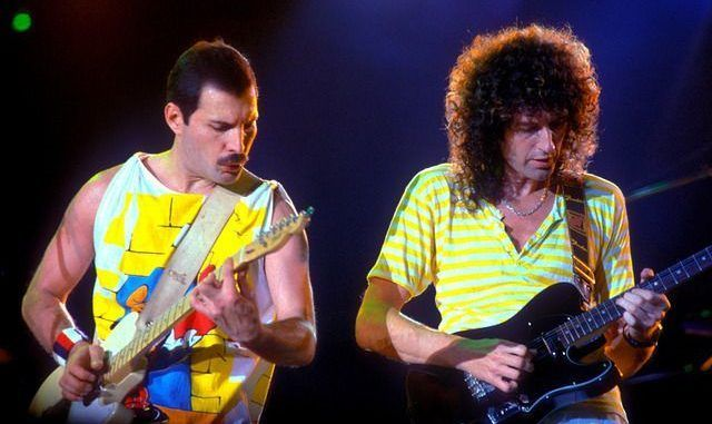 freddie mercury brian may magic tour 1986 queen