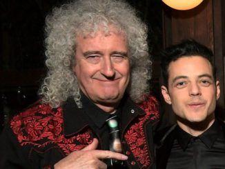 Brian May Rami Malek Bohemian Rhapsody