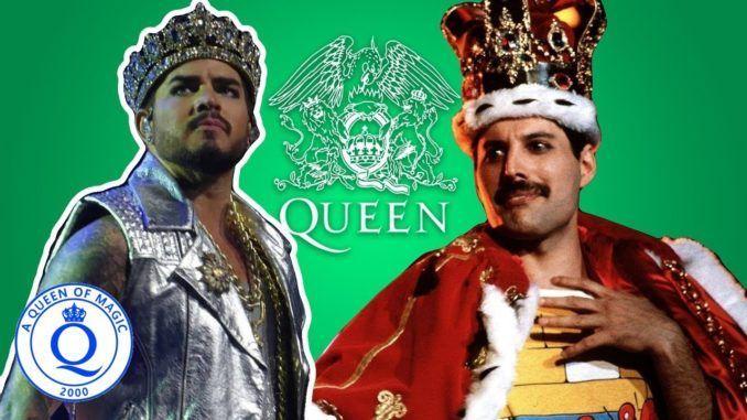 Freddie Mercury Adam Lambert Queen QAL