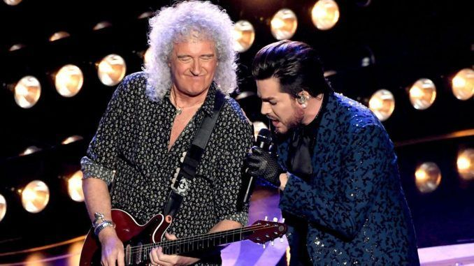 Adam Lambert Queen QAL Brian May