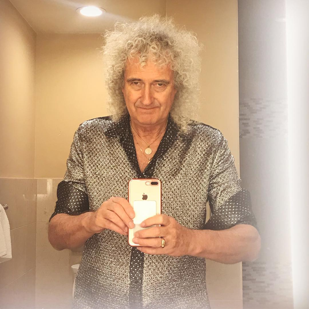 Brian May Queen Instagram