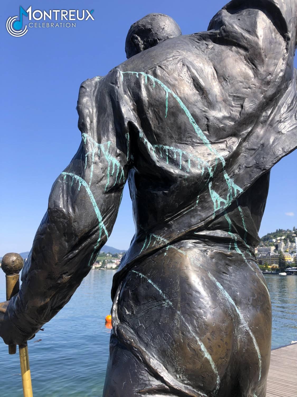 Freddie Mercury Montreux Estatua