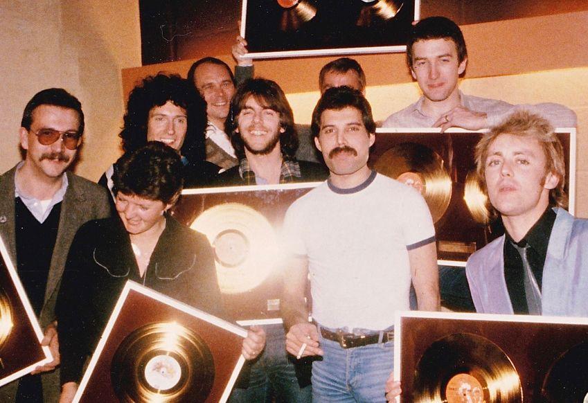 Brian May Queen Paul Prenter Freddie Mercury