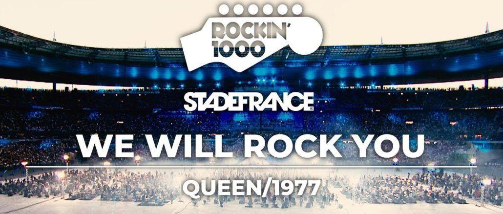 We Will Rock You Queen Rockin 1000