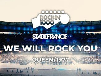 We Will Rock You Queen Rockin 1000