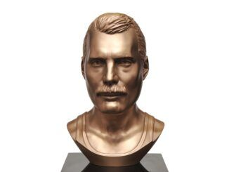 freddie mercury busto