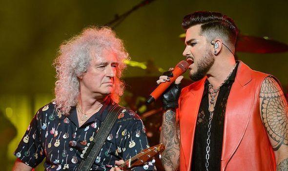 Adam Lambert Velvet Brian May