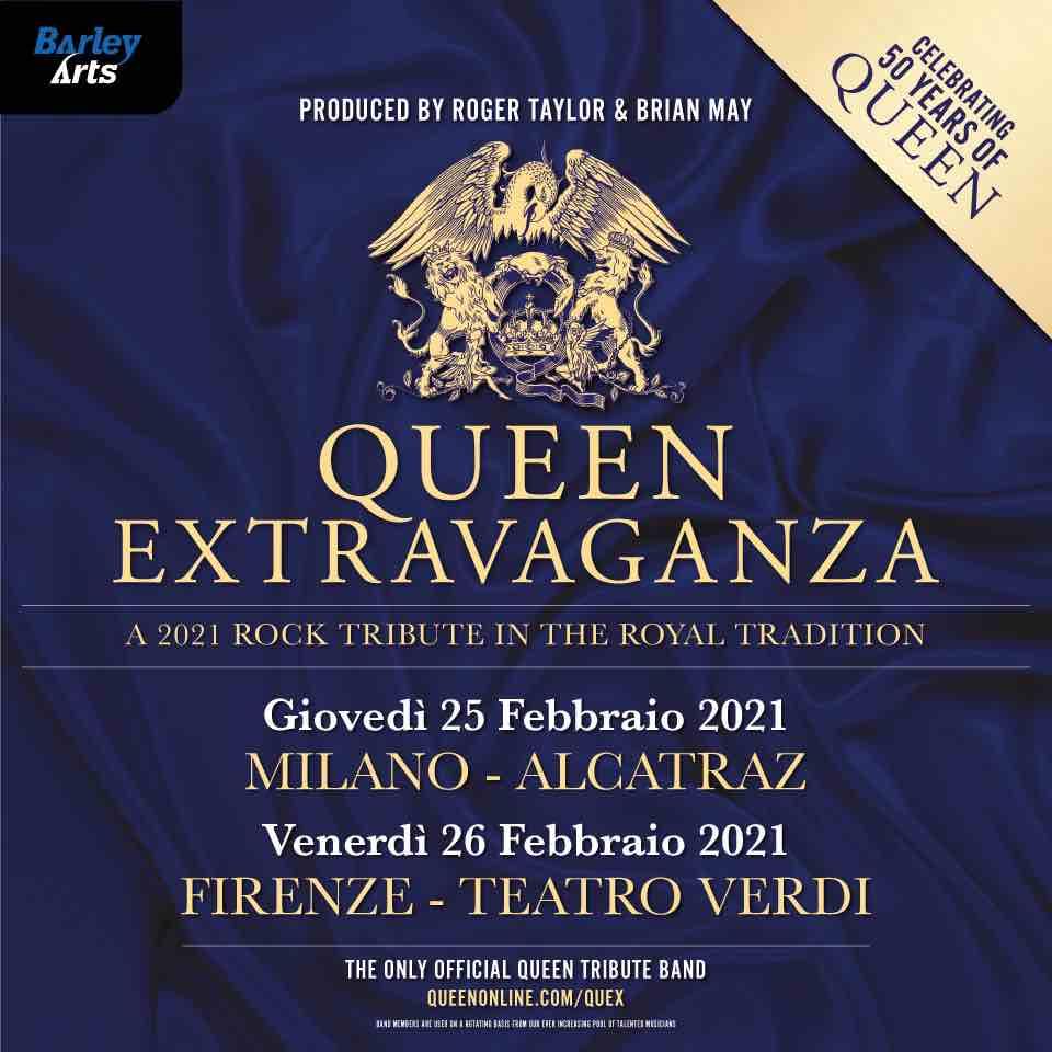 queen extravaganza italia