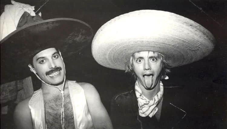 Freddie Mercury Roger Taylor Queen México