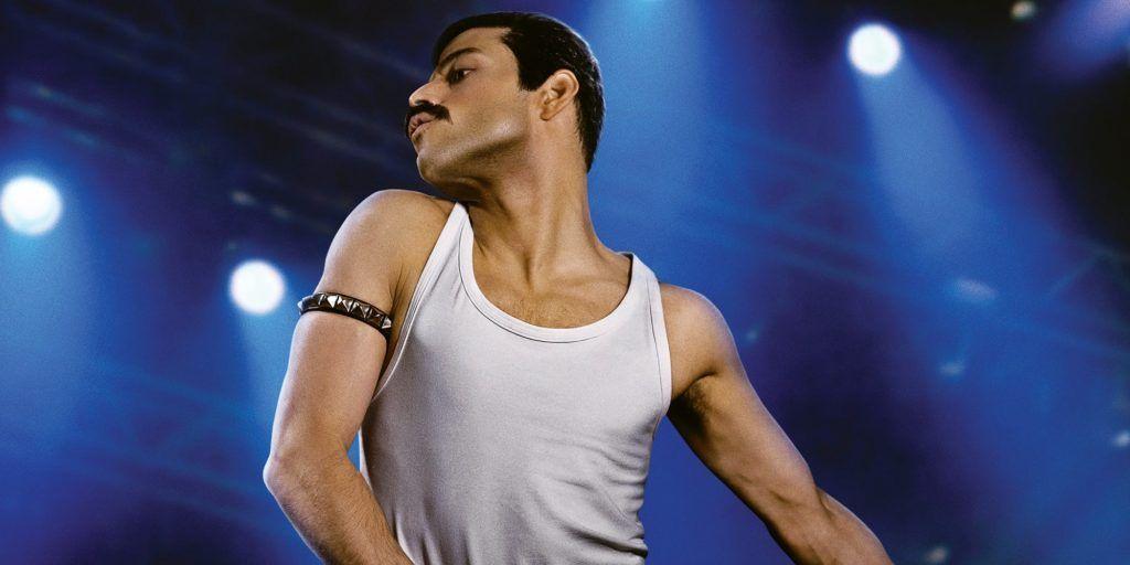 Rami Malek como Freddie Mercury, en Bohemian Rhapsody. Se estrenará en España el 31 de octubre de 2018.