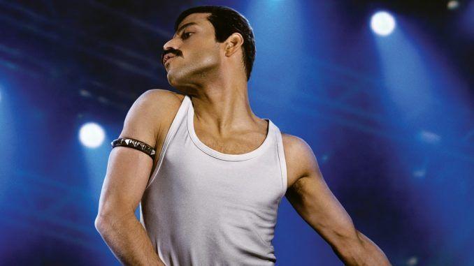Rami Malek como Freddie Mercury en Bohemian Rhapsody