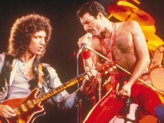 Queen Freddie Mercury Brian May 1980 The Game