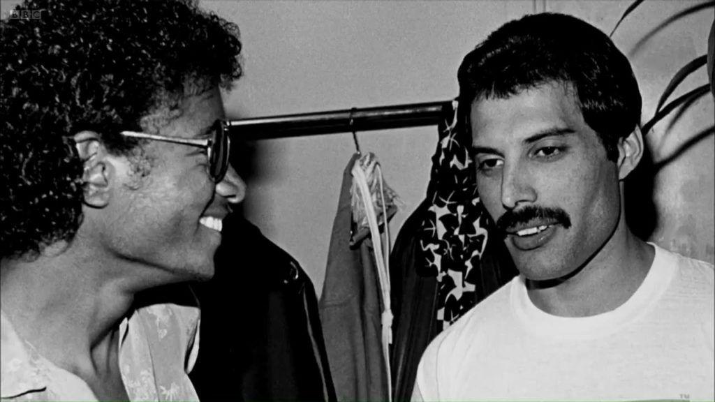 Michael Jackson y Freddie Mercury. Queen.
