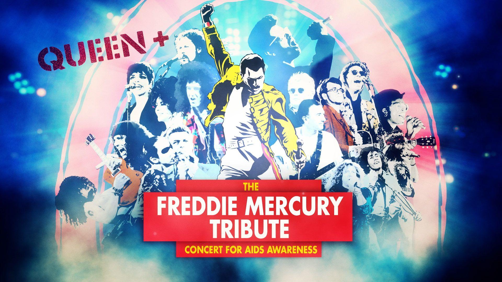 26 años del gran homenaje a Freddie Mercury en Wembley