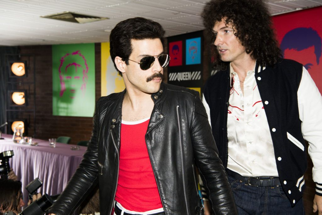 Rami Malek (Freddie Mercury) y Gwilym Lee (Brian May). Imagen cedida por Fox España para A Queen Of Magic.