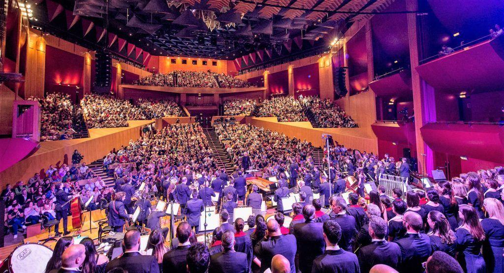 The QUEEN Symphony, Gran Canaria Wind Orchestra (GCWO), Coro de la Orquesta Filarmónica de Gran Canaria y Coro infantil OFGC.