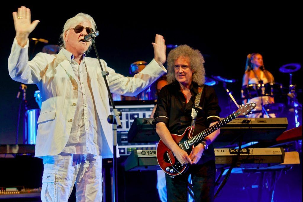 Tangerine Dream y Brian May en Starmus, Tenerife.