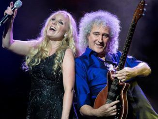 Kerry Ellis y Brian May.