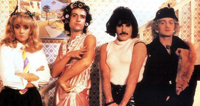 Queen en el videoclip de I Want To Break Free.