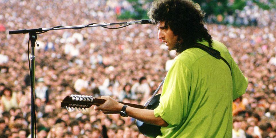 Brian May. Knebworth Park.