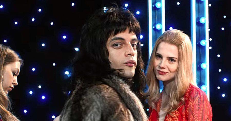 Freddie Mercury y Mary Austin en Bohemian Rhapsody